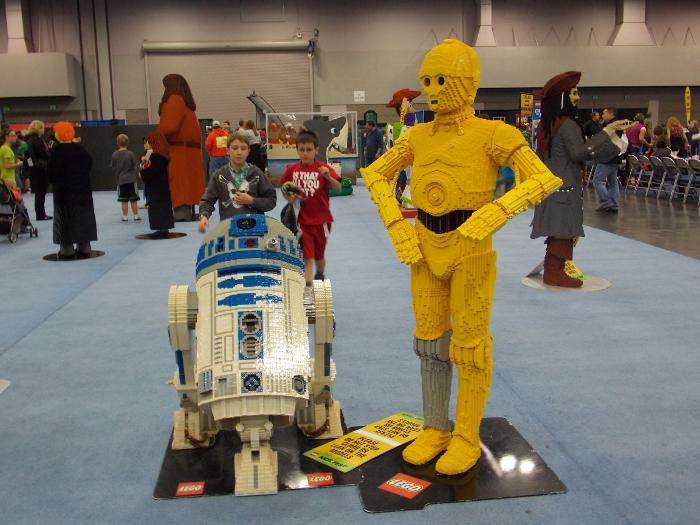 LEGO R2D2 & C3PO