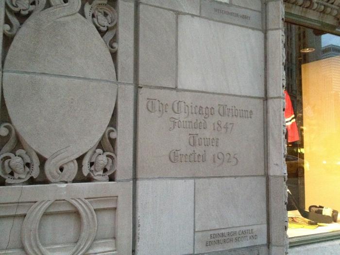 Chicago Tribune, founded 1847