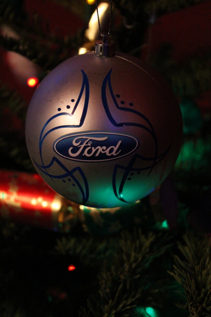Ford Christmas Ornament
