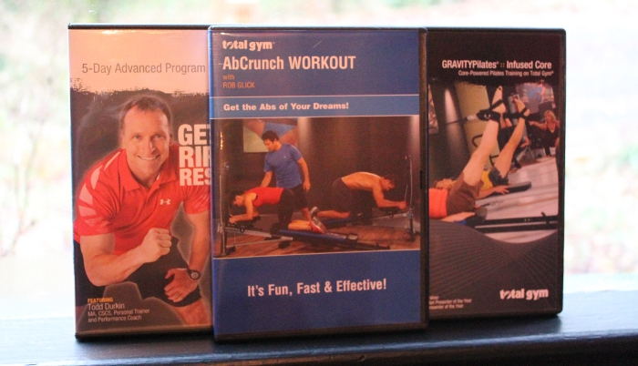 Total Gym Workout DVDs