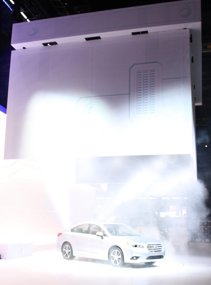 2015 Subaru Legacy Reveal