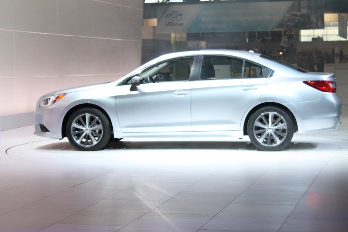 2015 Subaru Legacy Side View