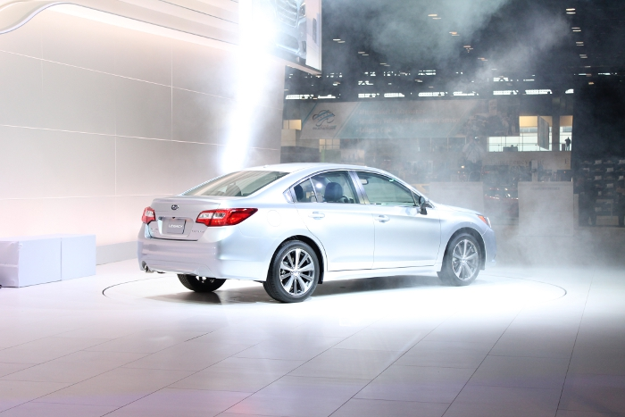 2015 Subaru Legacy in Smoke