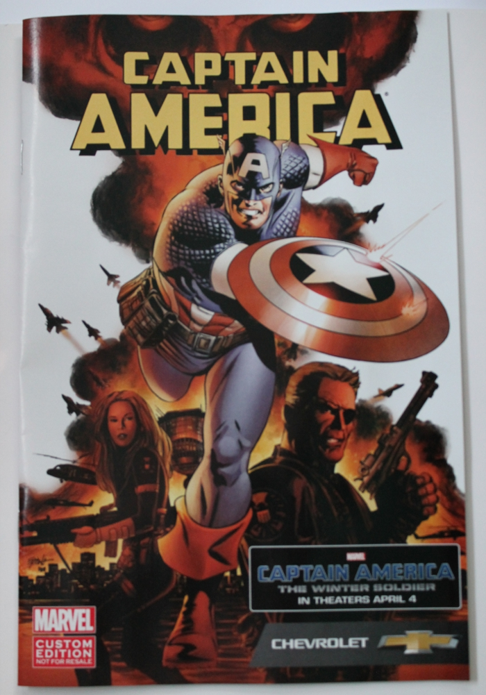 Captain America Chevrolet Comic