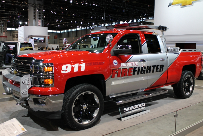 Silverado Z71 Volunteer Firefighter Concept Car