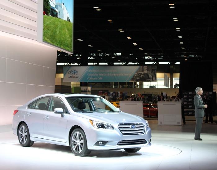 Subaru Press Conference