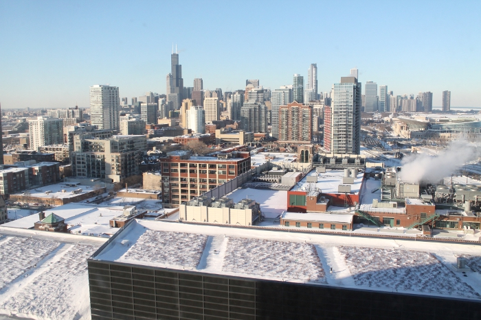 Chicago Cityscape Hotel Accommodation Provided By Hyatt Regency Mccormick
