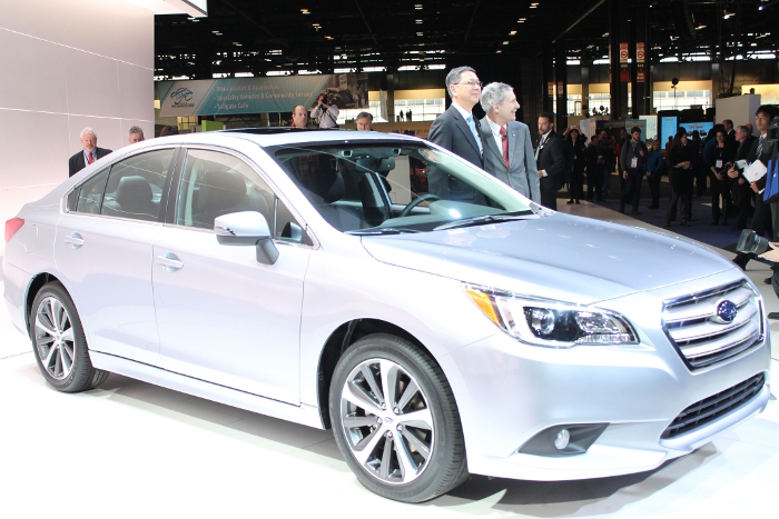Introducing The 2015 Subaru Legacy