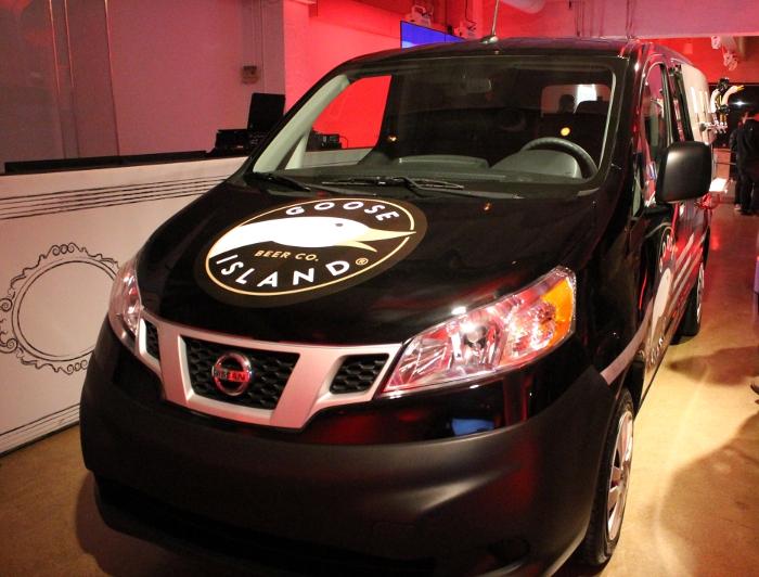 Nissan Beer Van
