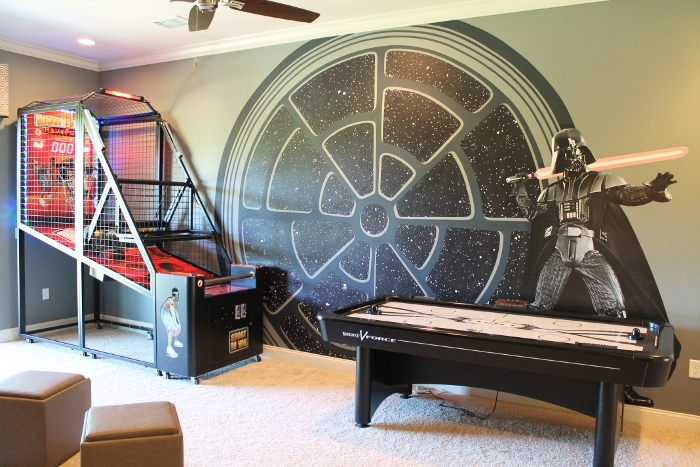 Star Wars Home Theater and Gaming Room
