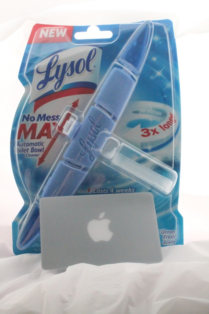 Lysol Automatic Toilet Cleaner & iTunes Gift Card