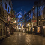 Diagon Alley Night